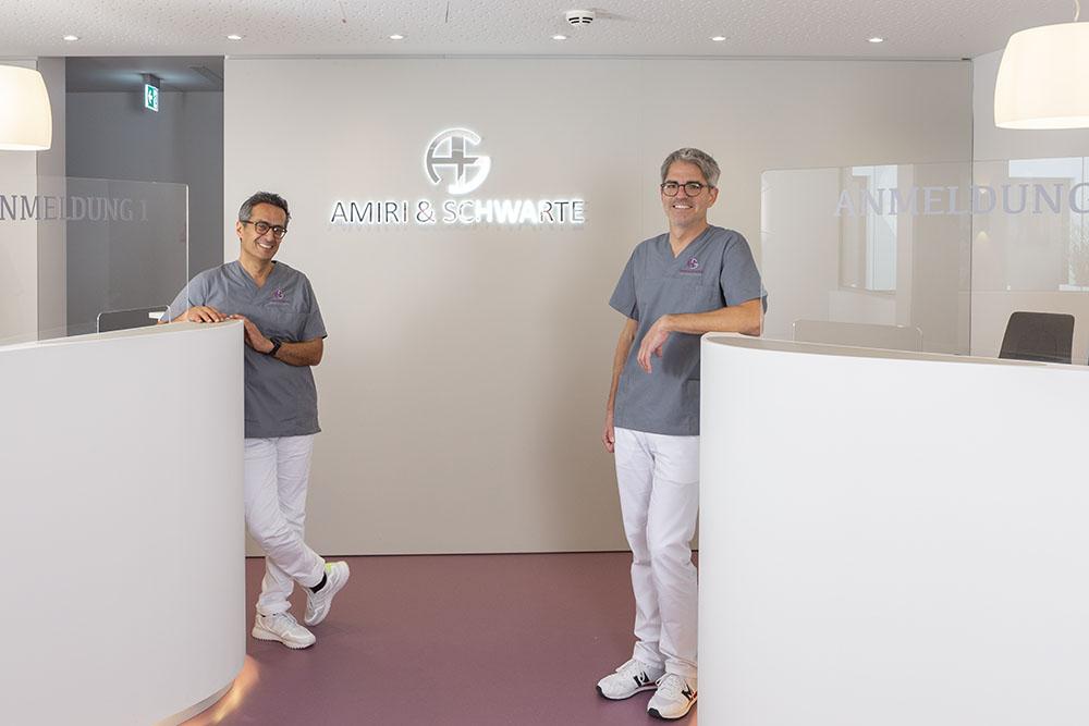 Dr. Amiri und Dr. Schwarte